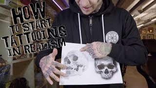 HOW TO START TATTOOING IN REALISM
