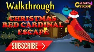 Christmas Red Cardinal Escape Walkthrough [G4E]