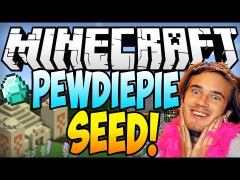 """PewDiePie - Minecraft 1.7.10 Seeds: """"PewDiePie"""" (Minecraft 1.7.9 Seed) (Minecraf"""