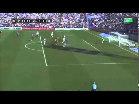 Real Valladolid 1 Barça 0 gol Fausto Rossi Canal plus liga