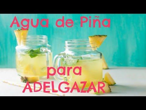 Agua de Piña - Diurética y ADELGAZANTE ♦ consaboraKaFé