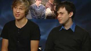 The Chronicles Of Narnia: Prince Caspian: Skandar Keynes and William Moseley Video Interview