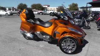 004798 - 2014 Can Am Spyder RT SE6 LIMITED - Used Motorcycle For Sale