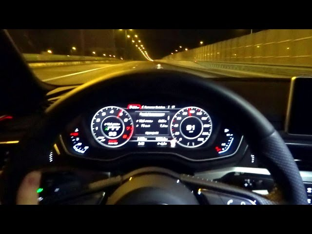 2016 Audi A4 B9 2.0 TFSI Quattro (252 hp ... - YouTube