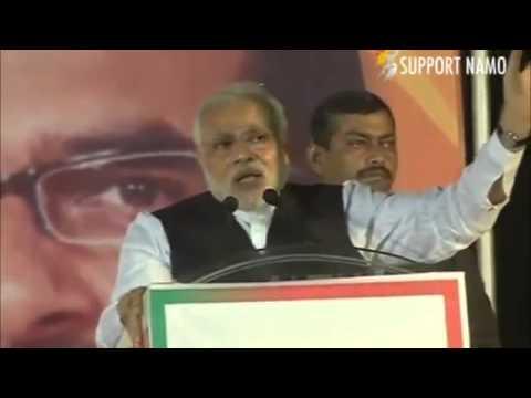 One  Chaiwalla  has challenged the Nehru Gandhi family - Narendra Modi