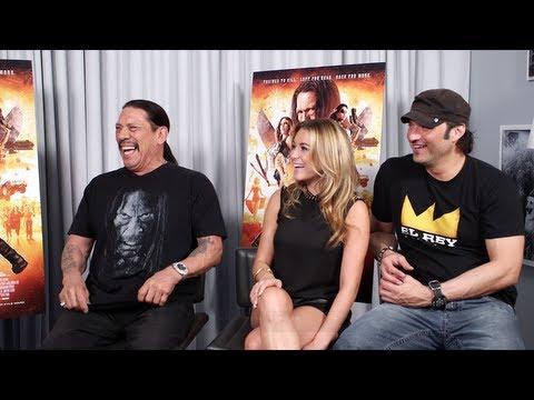 MACHETE KILLS Interview: Robert Rodriguez, Danny Trejo and Alexa Vega