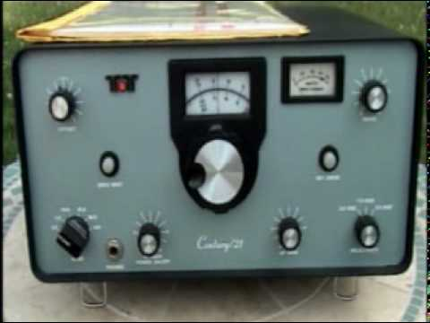 Ten Tec Century 21 QRP CW HF Ham Transceiver Demo by N6TLU
