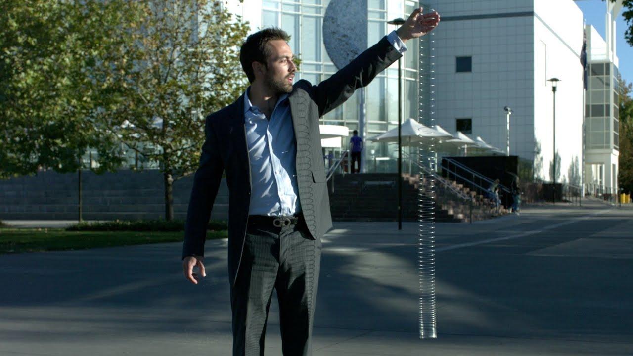 Increíbles videos Slow-Motion con los resortes Slinky