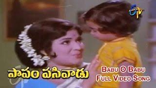 Babu O Babu Full Video Song | Papam Pasivadu | SV Ranga Rao | Devika | Nagesh | ETV Cinema