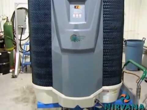 Goodman Heat Pump Ratings >> Defrost mode - Nirvana Pool Heat Pump - YouTube