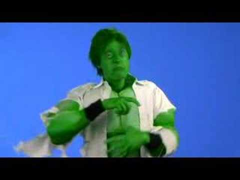 Incredible Hulk Muscle Suit Costume : BFX
