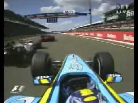 Formula 1 - 2004 - Hungary - Start - Very good start of Alonso