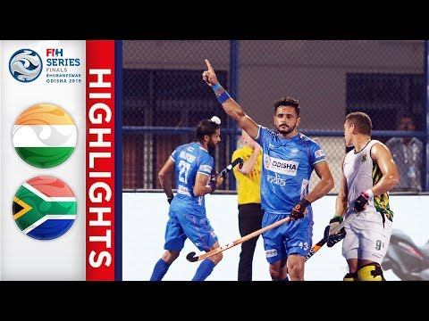 India v South Africa | Men's FIH Series Finals | Final | Highlights