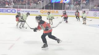 Solar Bears mites on ice 2 different views.  Jedi vs Rebels