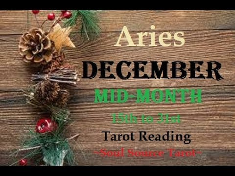~Aries~December 2017 Mid Month Tarot Reading