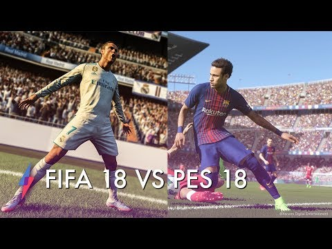 FIFA 18 VS PES 18 Hands On Review - Which Is Better?!   Trusted Reviews