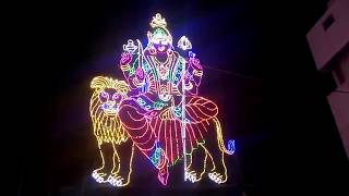 Different Design of lights In God Shape | village Festival