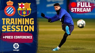 FULL STREAM: training & Valverde press conference ahead of derby