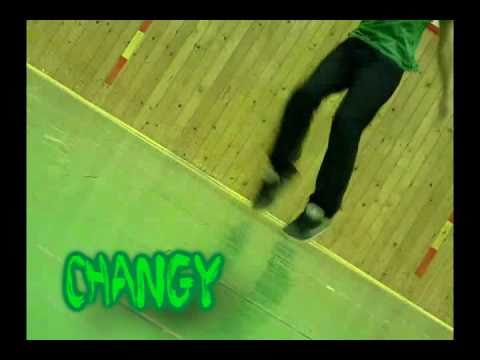 Changy - dnb dance in drill hall