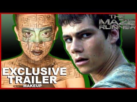 The Maze Runner Official Trailer Makeup Tutorial (2014) Dylan O'Brien Dystopian Movie HD