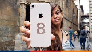iPhone 8: Unboxing y duras pruebas (español)