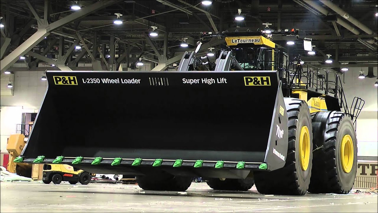 The biggest heavy equipment in the World. - YouTube