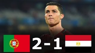 Portugal vs Egypt 2-1 - All Goals & Highlights - Friendly 23/03/2018 HD