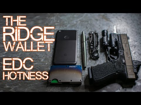 The RIDGE Wallet Review (Titanium)