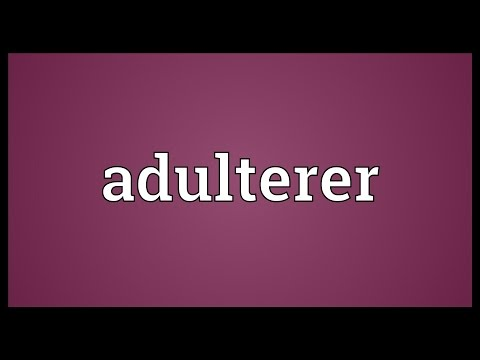Header of adulterer