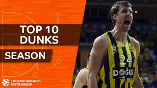 2017-18 Turkish Airlines EuroLeague: Top 10 dunks!