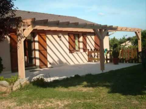 Pergola En Bois Youtube