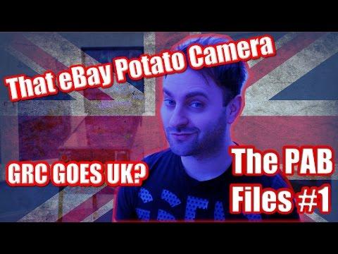 GRC Goes UK? ~ That eBay Potato Camera ~ The PAB Files #1