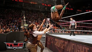 Download Cedric Alexander & Rich Swann wow the crowd with their acrobatic offense: WWE TLC 2017 3Gp Mp4