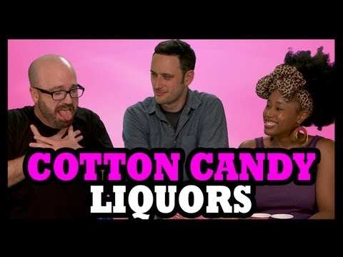 Why Would You Drink... Cotton Candy Vodkas!? - Food Feeder