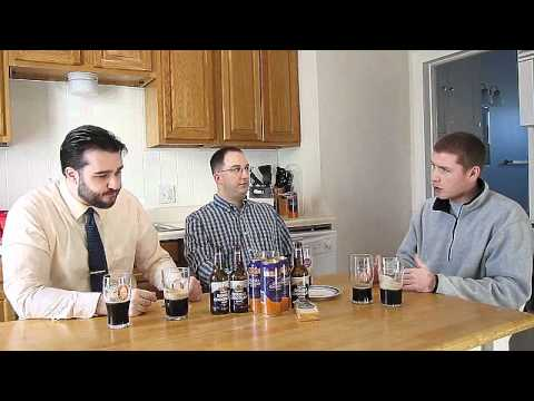 Young's Double Chocolate Stout (bottle vs can) | Chad'z Beer Reviews #221