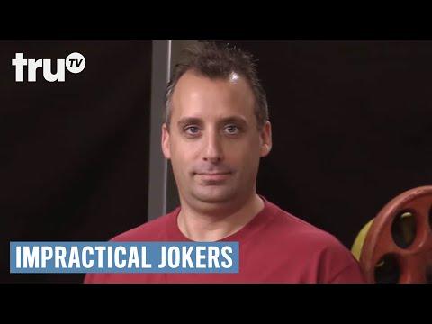 Impractical Jokers Joe Creeps Out Everyone At Gym