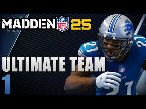 Madden 25 Ultimate Team Next-Gen : First Game on The Playstation 4 Ep.1