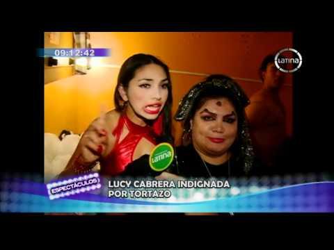 Susy Díaz lanzó un tortazo a Toño Rodríguez en obra de Alex Otiniano