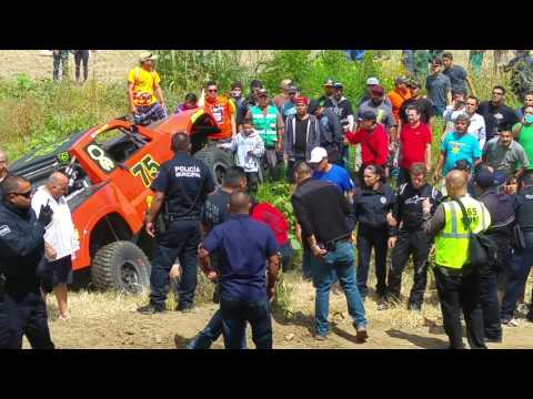 Accidente Baja 500 2016