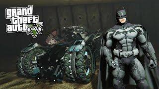 GTA 5 PC Mods - NEW ULTIMATE BATMAN MOD! GTA 5 Batman Mod Gameplay! (GTA 5 Mod Gameplay)