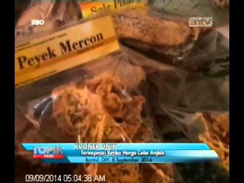 [ANTV] TOPIK Kuliner Peyek Mercon, Sensasi Rasa Cabe Nan Pedas