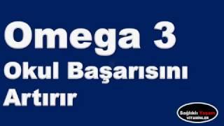 Omega 3 okul başarısını artırır