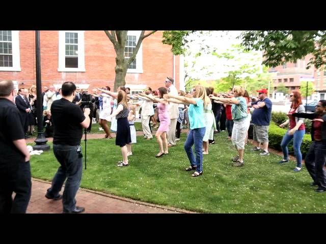 Toby & Joseph's Wedding Flash Mob - Providence, RI