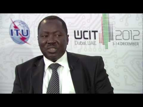 ITU INTERVIEW @ WCIT - 12: Abdoulkarim Soumaila, Secretary General, African Telecomms. Union