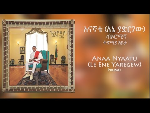 Teddy Afro - አናኛቱ (ለኔ ያድርገው) /በኦሮሚኛ - [New Music Promo 2017]