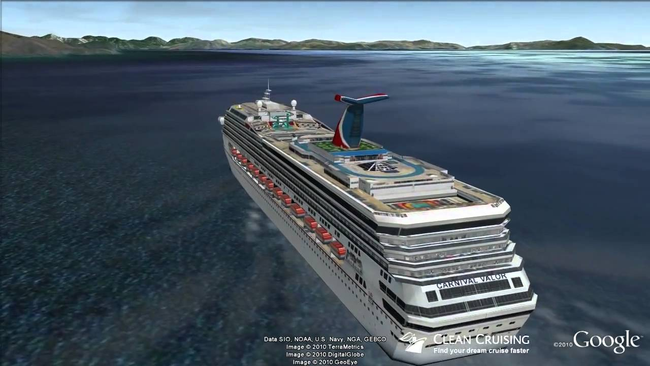Carnival Valor Virtual Ship Tour  YouTube