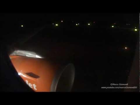 VCE-FCO EasyJet A319 TAKE-OFF @ VENICE / LANDING @ FIUMICINO
