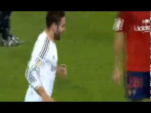 Daniel Carvajal Gol - Real Madrid 4-0 Osasuna 2014
