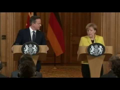 Angela Merkel on Greece and the Eurozone