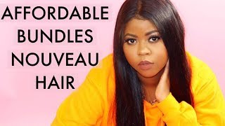 Affordable 24 inch Brazilian Straight Review Affordable Nouveau Hair !!!